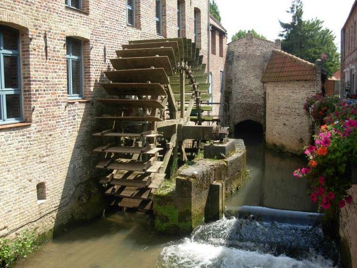Moulin des Invalides - Aire sur la Lys (Pas de Calais en France)