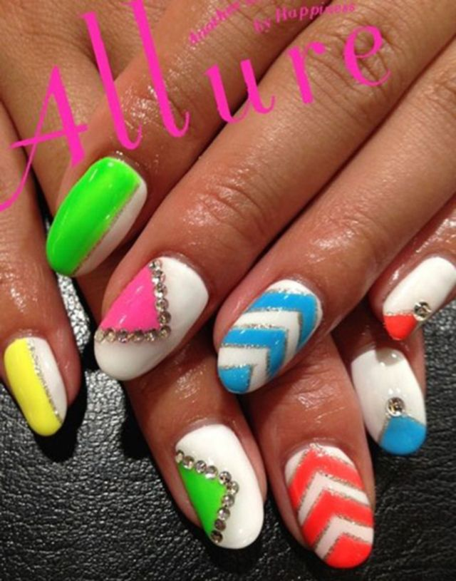 Current Nail Trends: 68 Best Images About Latest Nail Art Designs By Nded On