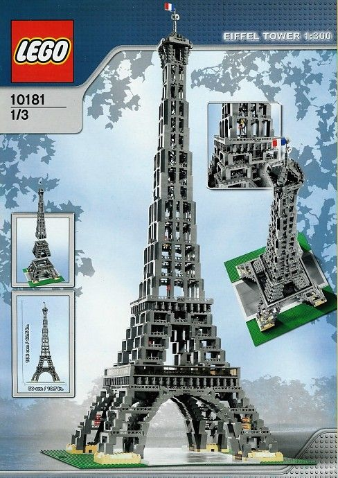 Eiffel Tower 3428 pieces