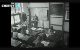 fil hoe het vroeger ging op school
