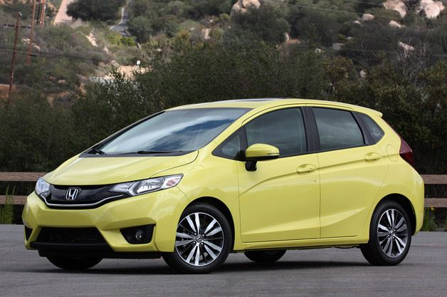 The 2015 #Honda #Fit now at @A. W. Wheaton Honda great for the person just starting out or the #UNBC student looking for a great affordable car.