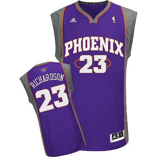 Phoenix Suns Jason Richardson 23 Purple Authentic Jersey Sale