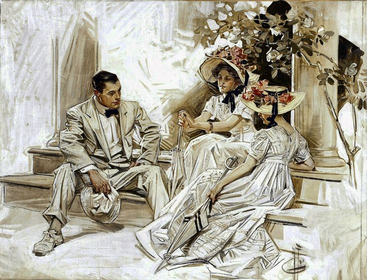 joseph christian leyendecker wallpapers - photo #1