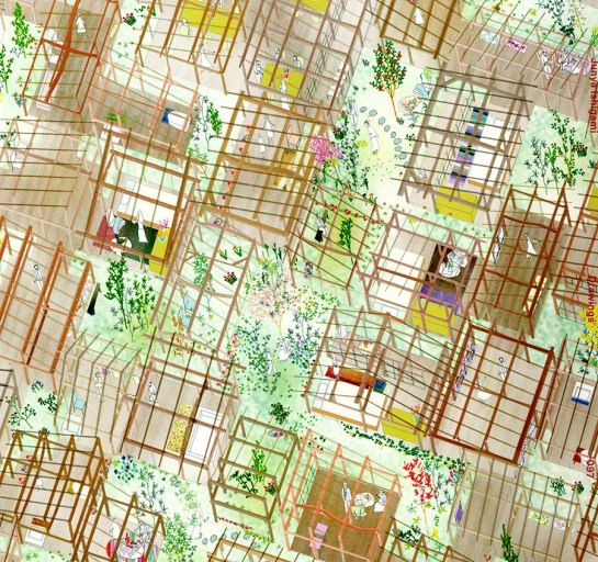 Openhouse Design: A Magical Land : Art & Architecture : The Drawings And