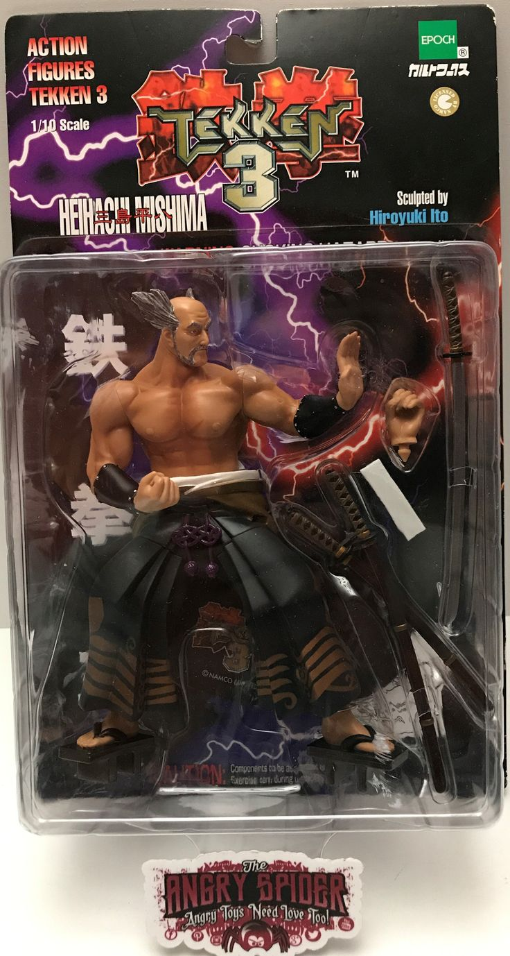 The Angry Spider has the best toys: TAS000931 - 1999 ...  Take a look: http://theangryspider.com/products/tas000931-1999-namco-tekken-3-action-figure-heihachi-mishima?utm_campaign=social_autopilot&utm_source=pin&utm_medium=pin