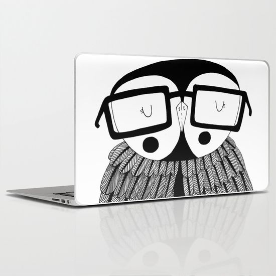 The wise owl Laptop & iPad Skin