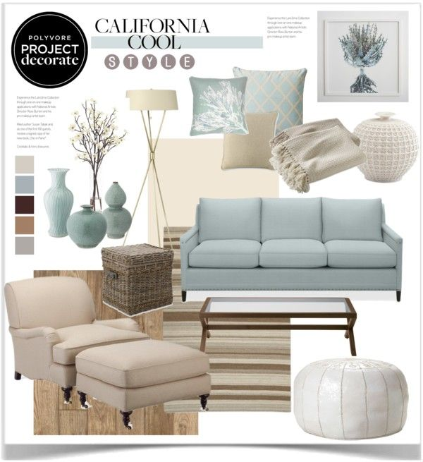 """Project Decorate: California Cool With Flourish Design and Style"" by jpetersen on Polyvore"