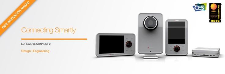 Award winning Lorex wireless IP cameras: Design Engineering by Lumium