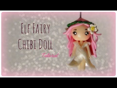 Elf Fairy Chibi Doll Polymer Clay Tutorial