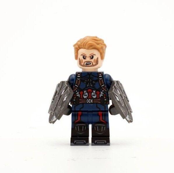 Custom Marvel minifigures Multiple Man X-men on lego brand bricks