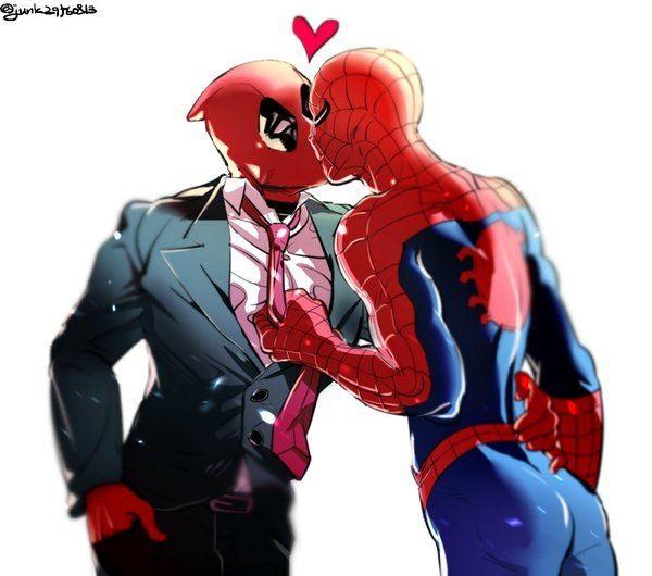 spiderman is gay dance