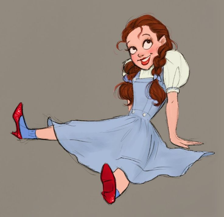 Dorothy Gale by DylanBonner - The Wizard of Oz