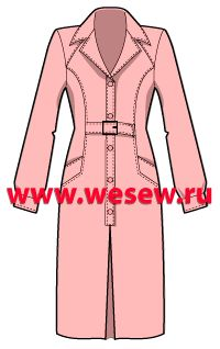 Dress pattern, I found it on a great russian blog with many fotographs, sketches and pattern drawings. You don't want to miss it!