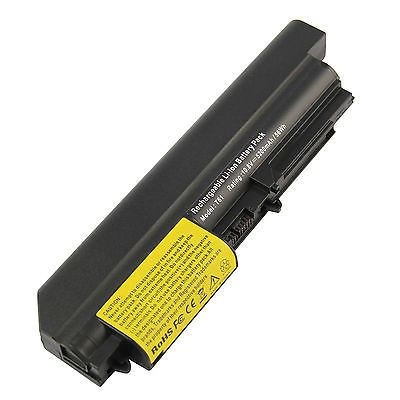 """6 Cell Laptop Battery For IBM Lenovo Thinkpad T61 R61 R61I T61P 15.4"""" widescreen"""