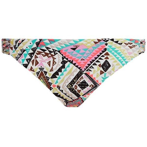 Billabong Safari Swimwear Bottom ($19) ❤ liked on Polyvore featuring swimwear, bikinis, bikini bottom swimwear, billabong, low rise bikini, billabong bikini and billabong swimwear