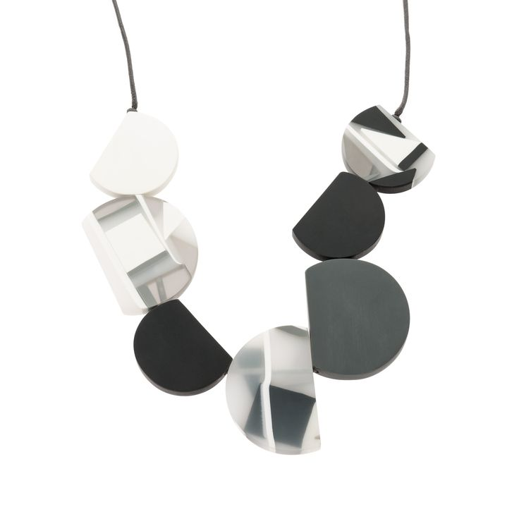 Buy the Semi Circular Collar Necklace at Oliver Bonas. Enjoy free worldwide standard delivery for orders over £50.