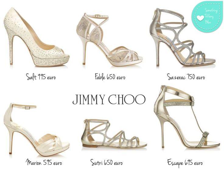 JIMMY CHOO BRIDAL 2014, LE SCARPE DA SPOSA GLAM E CHIC By www.SomethingTiffanyBlue.com #jimmychoo #wedding #shoes