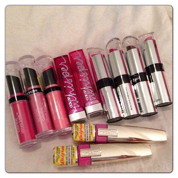 ❤ Revlon Color Stay Ultimate Suede Lipstick / Maybelline Color Sensational Color Whisper Lipcolor / Wet n Wild Fergie Centerstage Collection / L'oreal Colour Riche Caresse Aqua Lacquer Lipsgloss