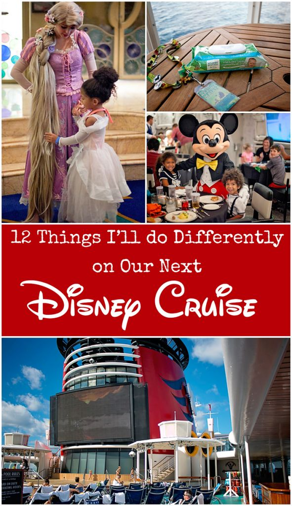 Things to do on a Disney Cruise. Things I'd do differently next time and tips to keep in mind while planning your Disney vacation. Love tip number 6.