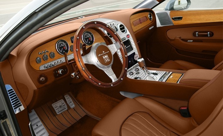 Wood Interior Car fornasari's gigi 311 sports car hand finished interior, with