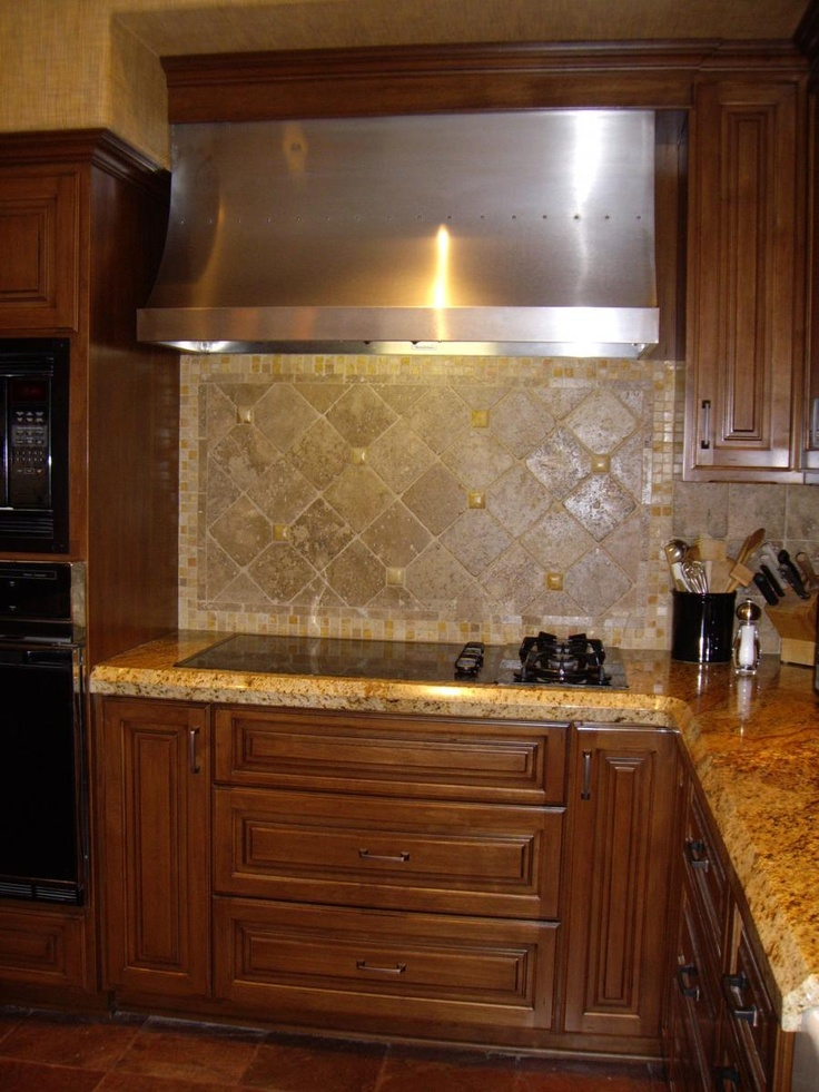 Kitchen Backsplash Stone 23 best tumbled backsplash images on pinterest | tumbled stones