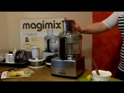 Making tzasiki with the Magimix 5200 food processor (18528) - YouTube