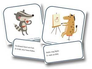 Lesespiele Grundschule zum Ausdrucken - Lesespiele Grundschule 2. Klasse