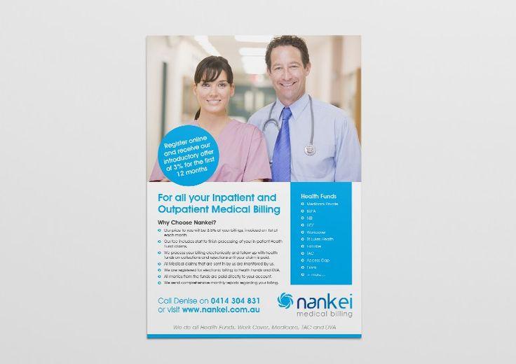 Nankei Medical Billing A4 Flyer Design | Oraco Marketing