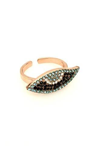 La Bella Donna - Γυναικειο δαχτυλιδι με μεγαλο ματακι