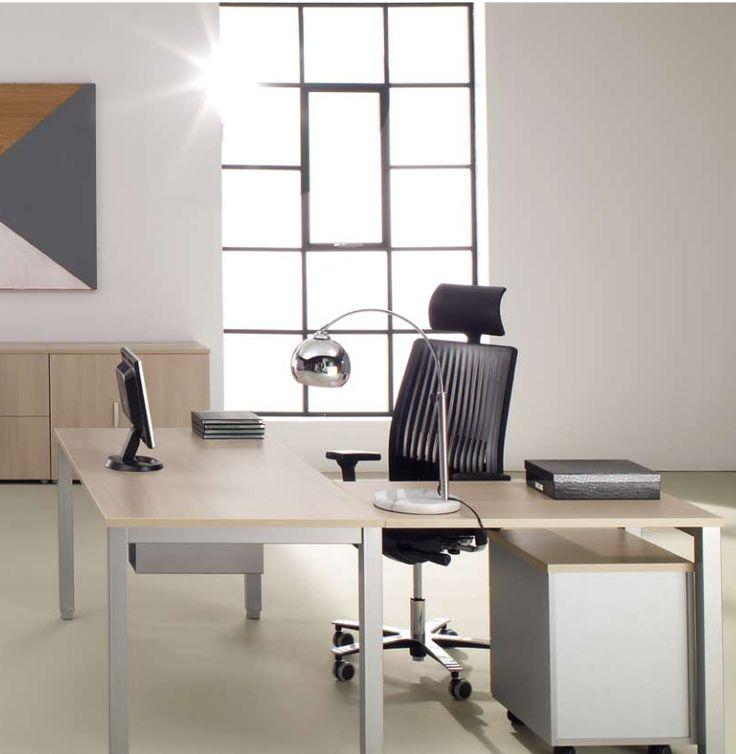 Elegancia y sencillez en el mobiliario de oficina TEMPO