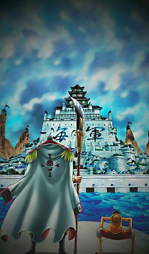 one piece, whitebeard, and edward newgate image