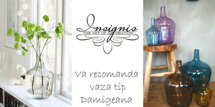 Un obiect de decor deosebit pentru casa dumneavoastra! http://www.insignis.ro/vaze-si-ghivece/vaze/vaza-damigeana-albastra-h56-cm-51KE017