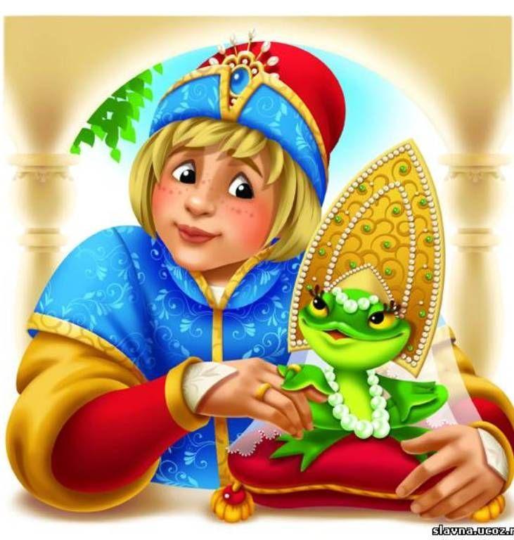 Сказка царевна-лягушка в картинках