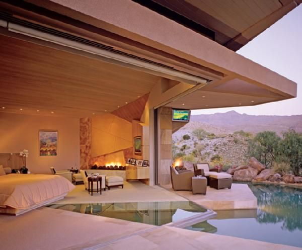 bedrooms - pool, bedroom pool, pool in bedroom,  bedroom with amazing view ..  pool
