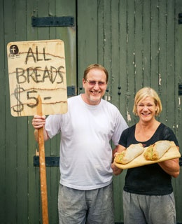 Kapiti Artisan Bakehouse.  Love all their breads!