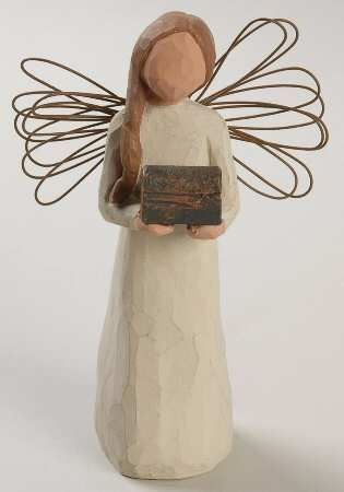 "Willow Tree Angel of Giving ""For those who possess the spirit of generosity"""