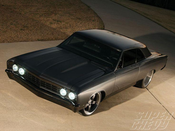 Flat black body,  gloss black roof and bumper