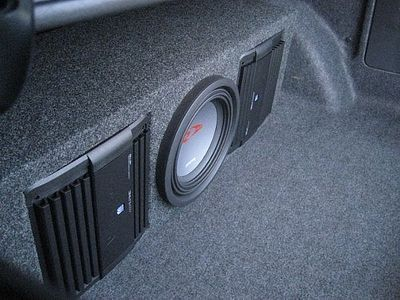 How to Install a Car Audio Amplifier and Subwoofer & 279 best Speaker Boxes / Consoles / Door Panels images on Pinterest ...