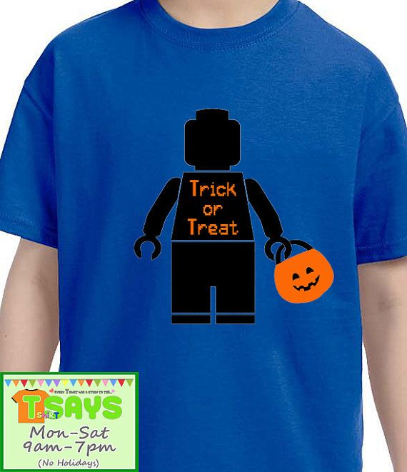 Legoland shirt for Halloween by Tsays on Etsy