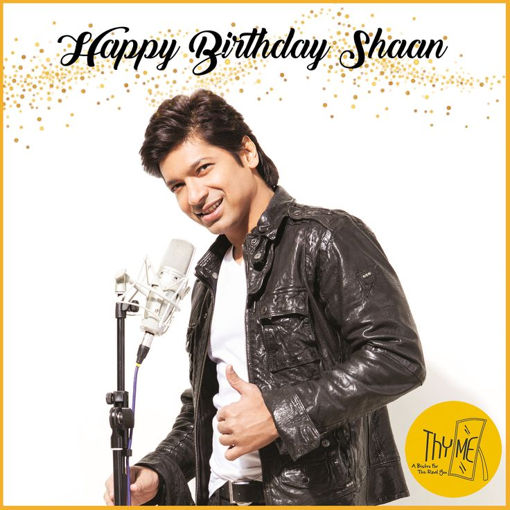 Happy Birthday to the always smiling singer and Voice of India Shaan... #ThymeBistro #Shaan #HappyBirthdayShaan #Singer #Musician