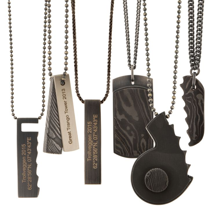 Necklaces from Extreme Sport - SUMMIT collection by Anna Orska.