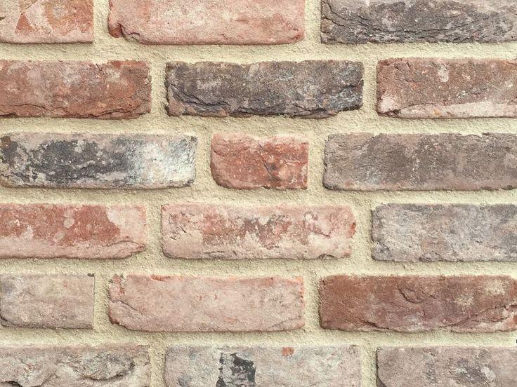 Retro Handform-Verblender, WDF, rot braun antik geschlämmt, K1054, Vormauerziege