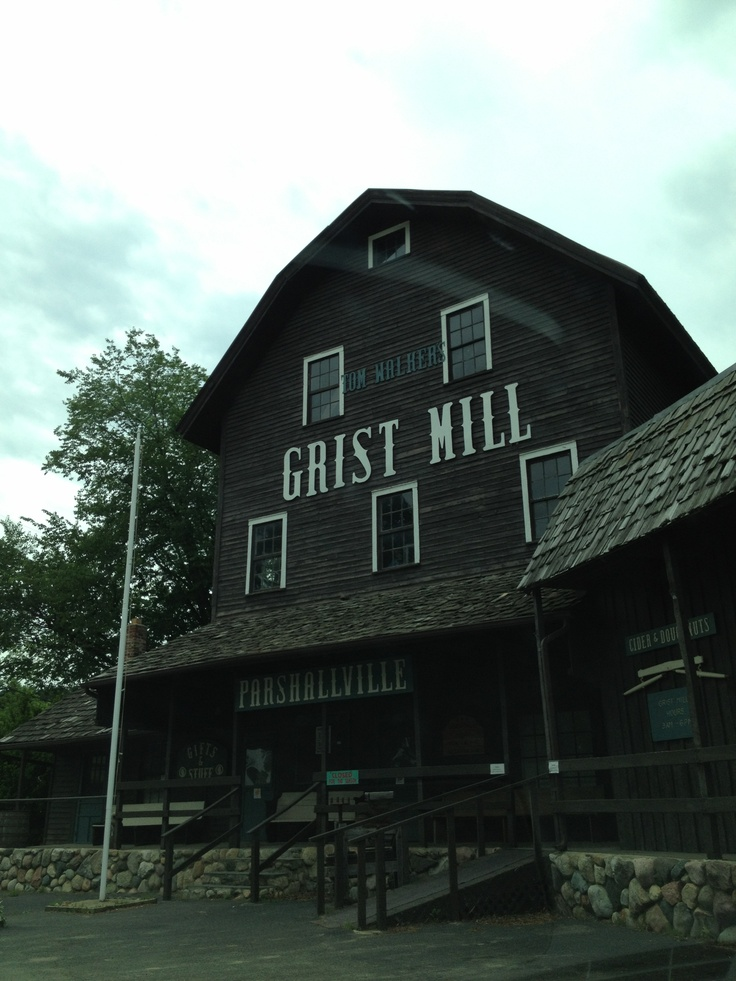 Parshallville Cider Mill Also Known As Tom Walker S Grist Was Built In 1869