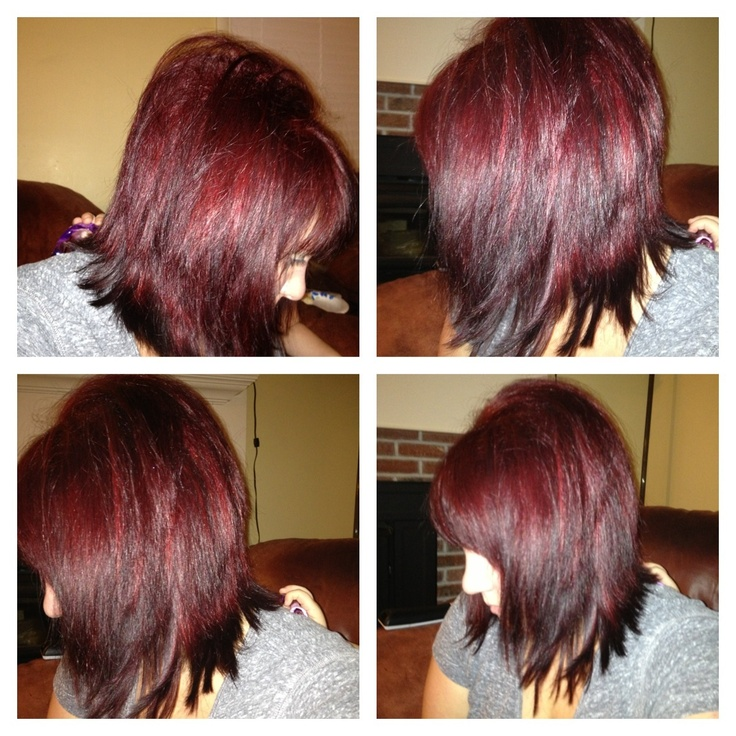 My Hair Used L Oreal Hicolor Highlight In Red I Did It