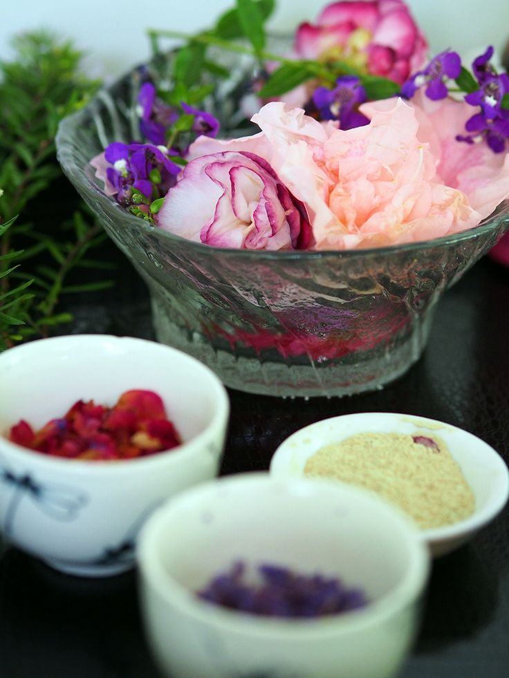 Organic beauty products at the OM Cleanse retreat Australia