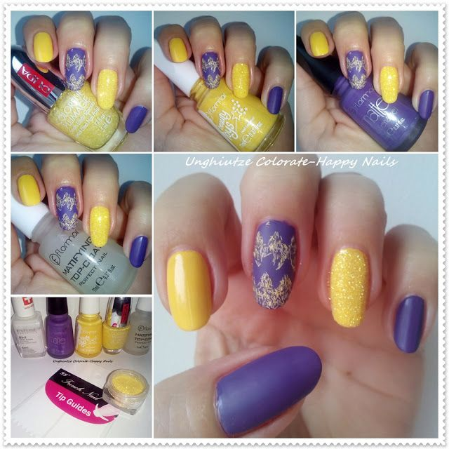 Unghiutze colorate-Happy nails: Nail Art Marathon-14,Velvet Nails