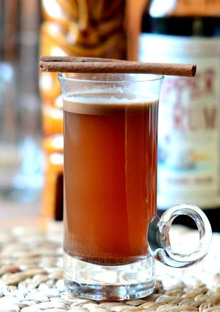 How to Make Hot Buttered Rum - Hot Buttered Rum is one of those drinks that you only hear about in old fashioned stories and Christmas carols.