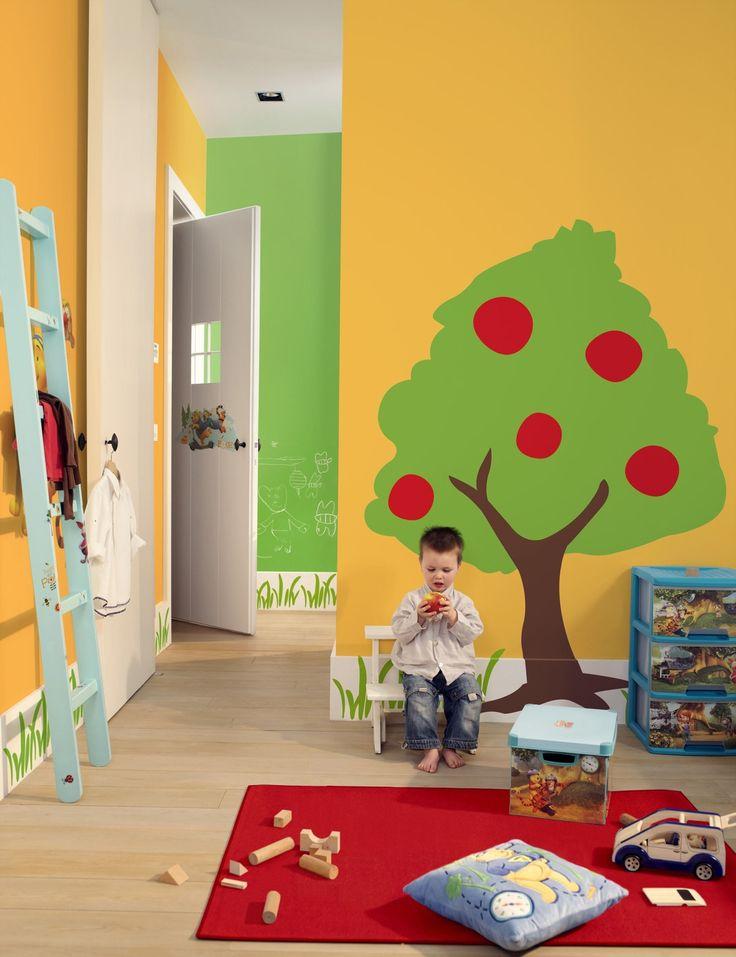 Kinderkamer inspiratie levis kleuren kinderkamer pinterest levis - Kinderkamer coloree ...