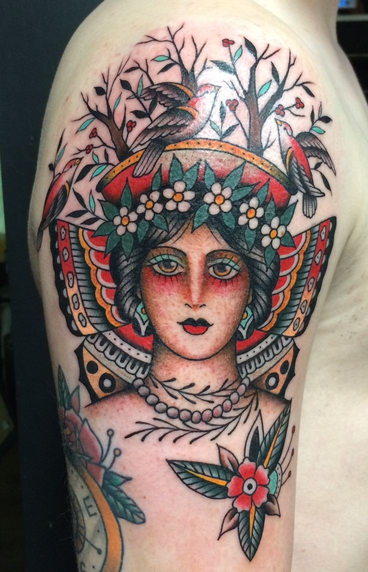 Frank Grimes @ Gastown Tattoo Parlour Vancouver BC