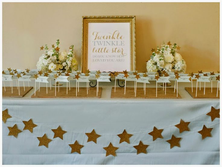 Simple Little Details: Event Design: U0027Twinkle Twinkle Little Staru0027 Baby  Showeru2026